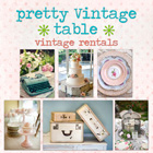 Pretty Vintage Table